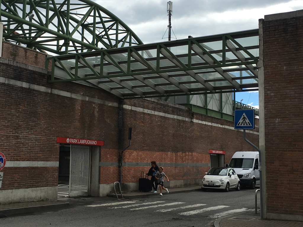 Lampugnano bus station - parking