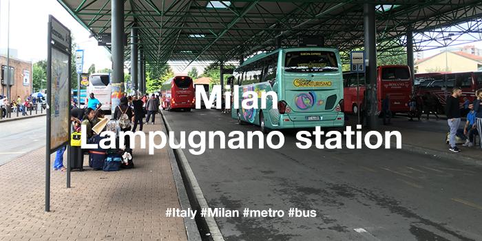 Milan Lampuqnano bus station