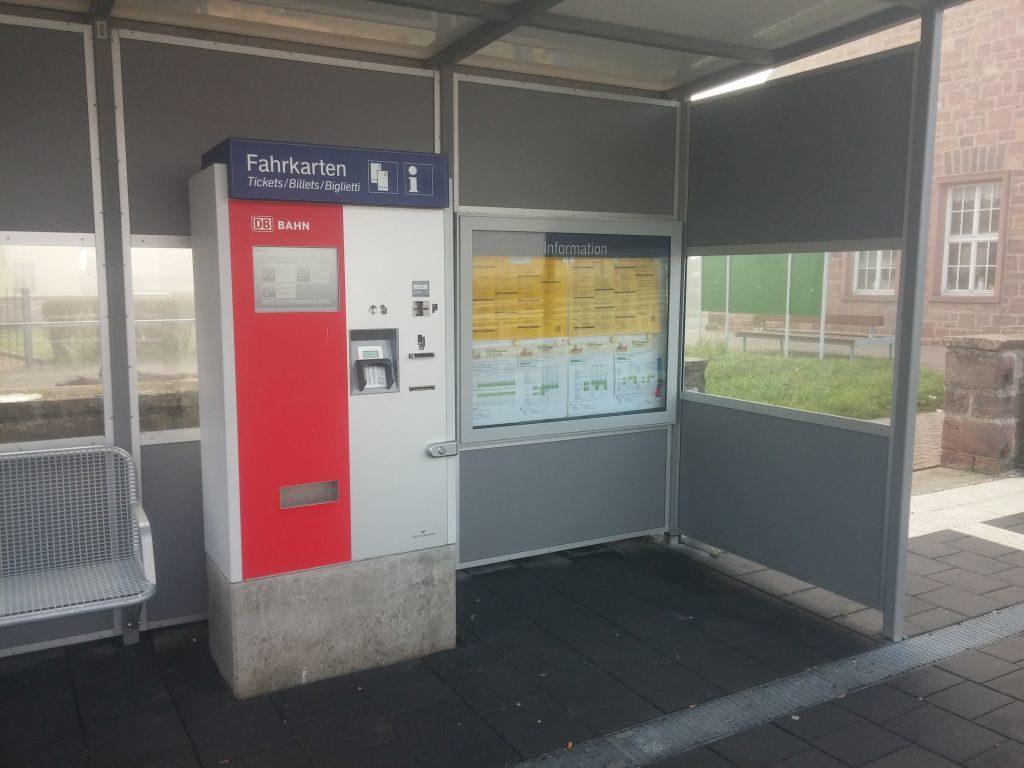bahn.de Ticket machine