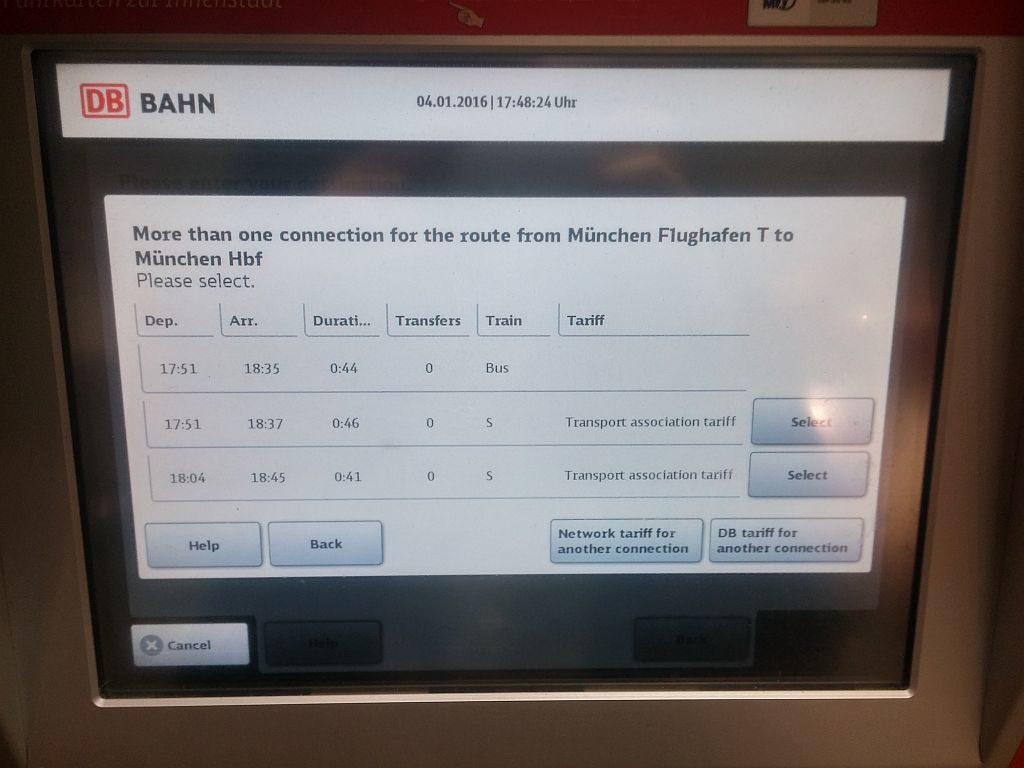 Munich Airport Train ticket buying guide