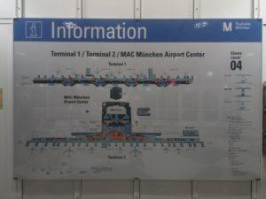 Munich Airport Map & Infographics