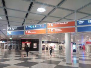 Munich Airport Navigation Panels