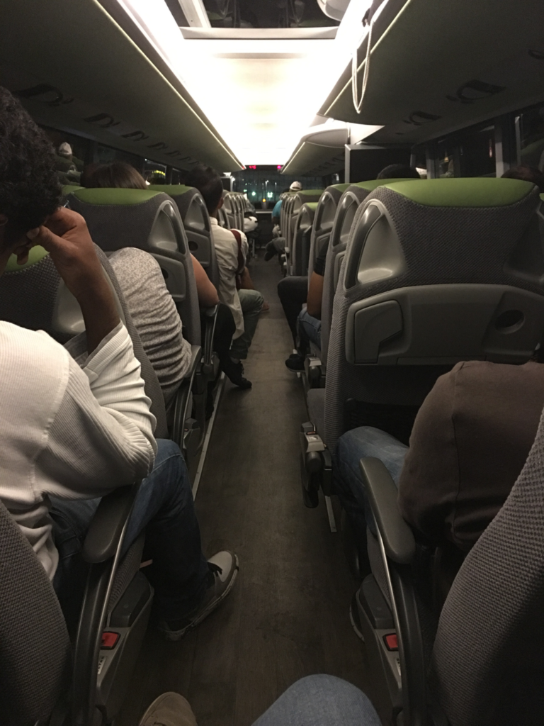 Flixbus doubledecker bus occupancy