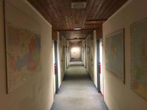Hotel Ekazent Schönbrunn Vienna room - common corridor
